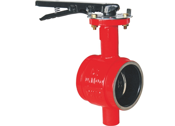 D381X Groove Butterfly Valve