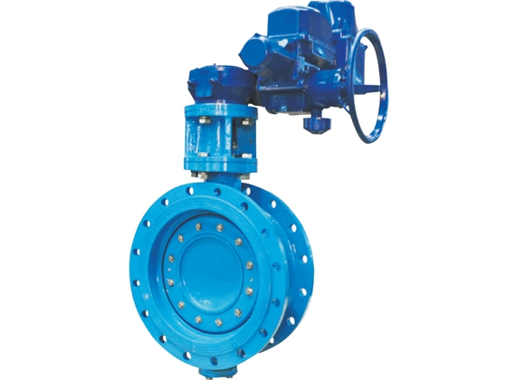 Soft Sealing Double Eccentric Flange Butterfly Valve 1